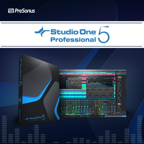 PRESONUS Studio One 5 Professional Upgrade (Art all →) / Studio One / One 5 / ArtUpgrade / One 5 Upgrade