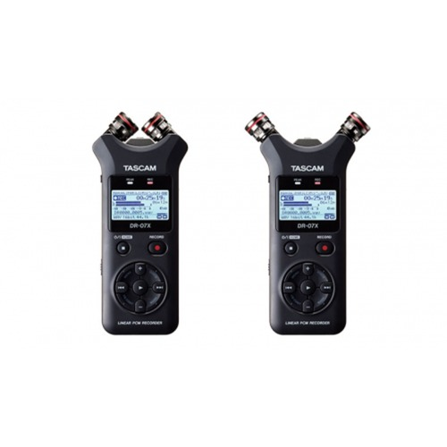 TASCAM DR-07X / Stereo Handheld Digital Audio Recorder and USB Audio Interface / 녹음기 / 인터페이스 기능 탑재 / 타스컴 / 정품