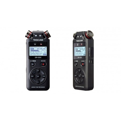 TASCAM DR-05X / Stereo Handheld Digital Audio Recorder and USB Audio Interface / 녹음기 / 인터페이스 기능 탑재 / 타스컴 / 정품