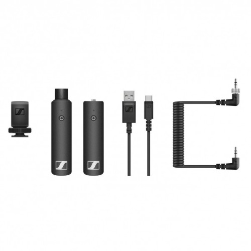 SENNHEISER XSW-D PORTABLE INTERVIEW SET / SENNHEISER / XSW-D PORTABLE INTERVIEW SET / 젠하이저 / 3.5mm 수신기 / XLR송신기 /  마이크세트 / 정품